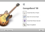 Garageband Title Screen