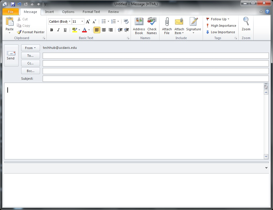 email templates in outlook 2010
